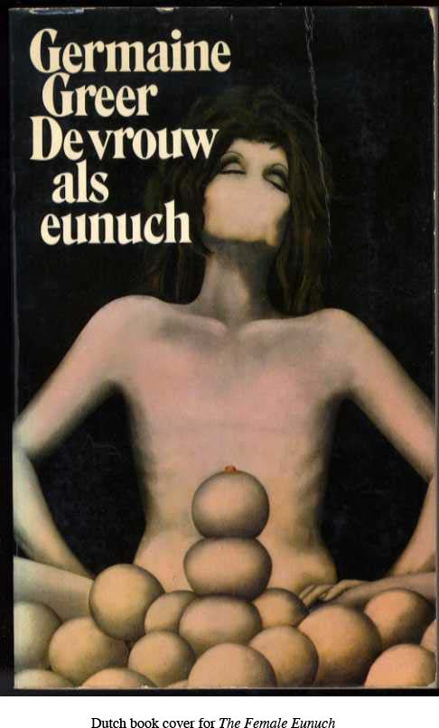 dutch book cover for the female eunuch