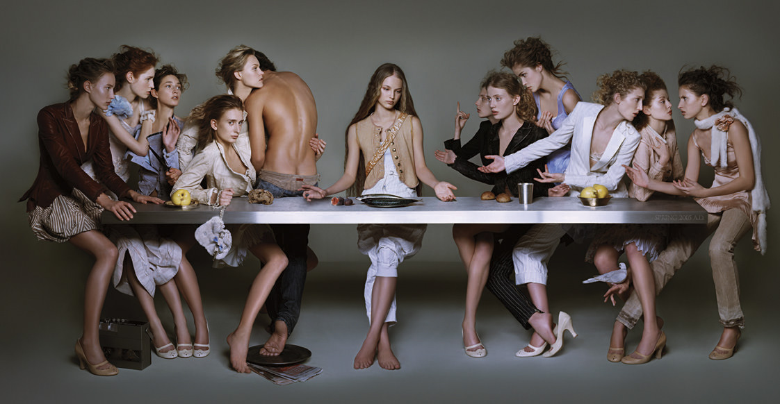 female last supper