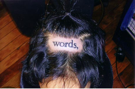 words, tattoo